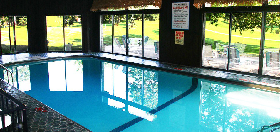 Our Incredible Indoor Heated Pool!